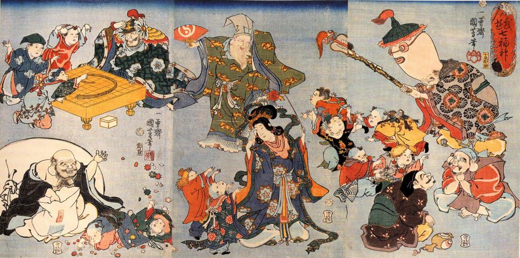Kuniyoshi_Utagawa,_The_seven_goods_of_good_fortune